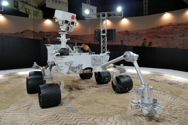 NASA火星探査車キュリオシティ [photo: Travel Online News]