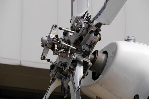 中部空港海上保安航空基地のヘリコプター「かみたか」 [photo: Travel Online News]