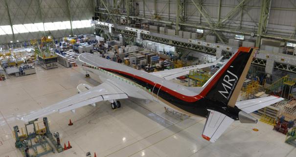 MRJ(Mitsubishi Regional Jet) [photo: 三菱航空機]