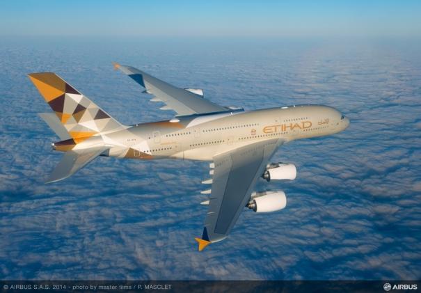エティハド航空 A380 [photo: Airbus]