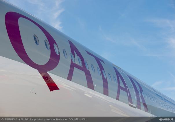 カタール航空のエアバスA350-900 [photo: Airbus]