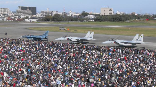 入間基地航空祭2016 地上展示(F-2、F-15J)