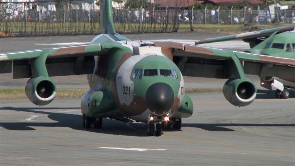 C-1輸送機(入間基地航空祭2016)