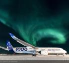 カナダのイカルイト空港で寒冷地テストを実施した、エアバスA350-1000 [Photo: Airbus]