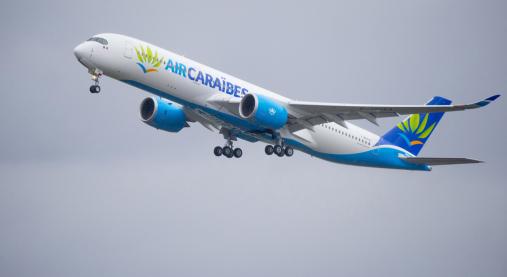 エア・カリブのA350-900 [Photo: Airbus]