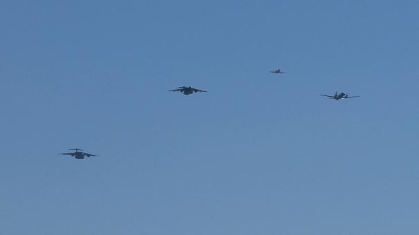 美保基地航空祭 オープニング・フライト