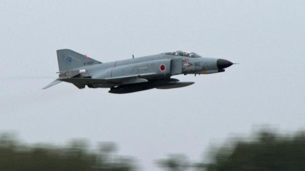今のうちにできるだけ見ておきたいF-4のデモ・フライト